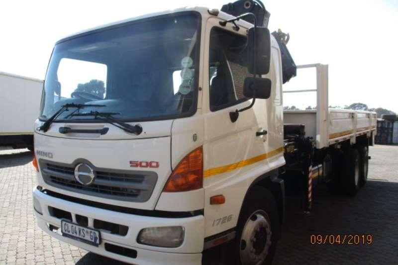 Hino Truck Crane truck HINO 500 1726 6 X 2 WITH HIAB XS166 CRANE 2013