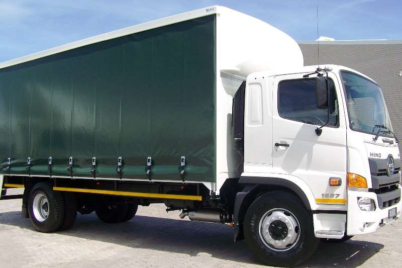 Hino Truck Curtain side New Hino 500   1627 FC 2019