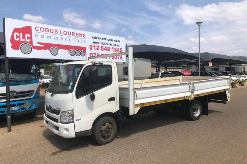 Hino Truck Dropside 2014 Hino 300 814 with5.2m  Dropside  Body 2014