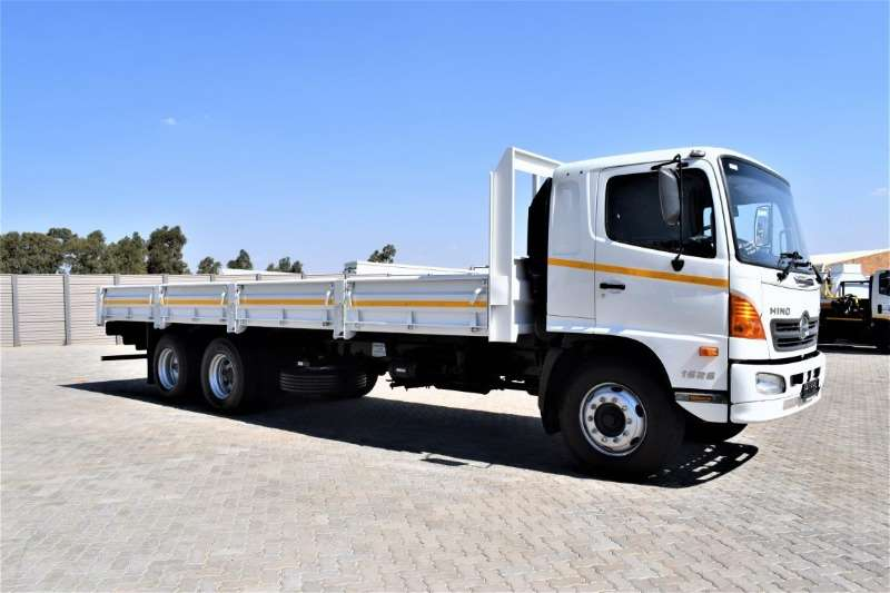Hino Truck Dropside 500 Series 1626 Tag Axle 2017