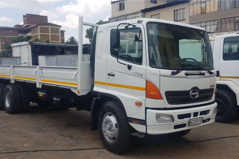 Hino Truck Dropside Hino 1726 Dropside Truck, Very clean 2008