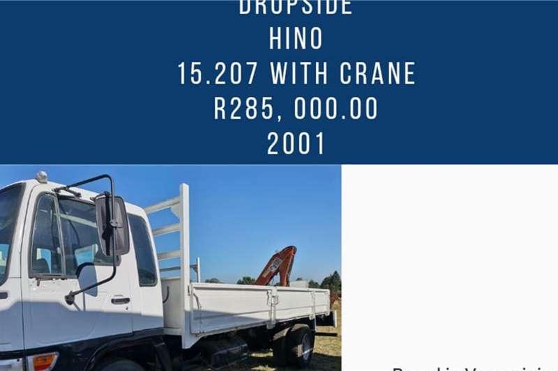 Hino Hino 15.207 dropside with palfinger crane Truck