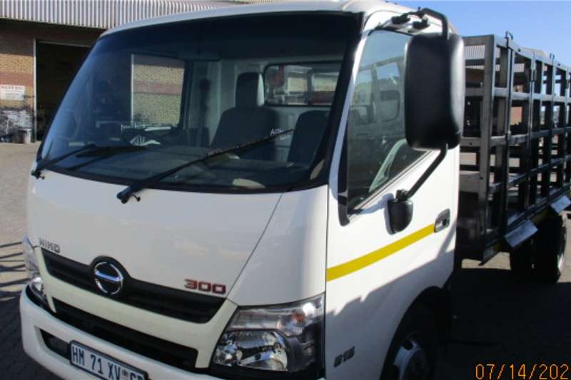 Hino Truck HINO 300 815 WITH GAS BOTTLE BODY 2018
