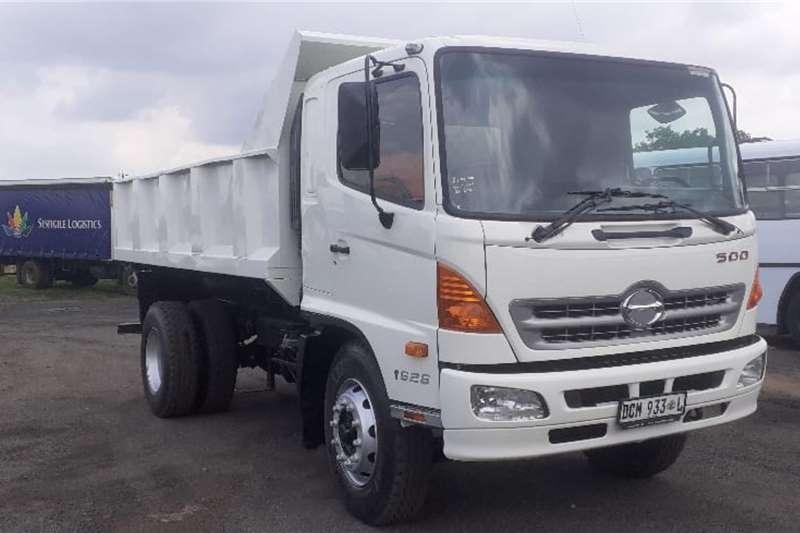 Hino Truck HINO 500 1626 6 CUBE TIPPER 2014