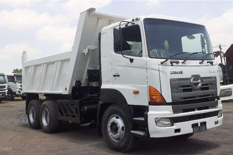 Hino Truck HINO 700 28 418 10 CUBE TIPPER 2009