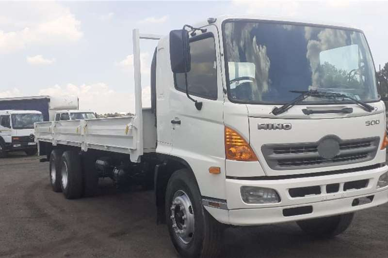 Hino Truck Lowbed HINO 500 15257 DROPSIDE 2007