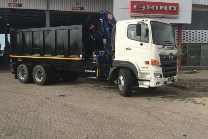 Hino Truck Refuse disposal Hino 2836 FC 6X4 2019