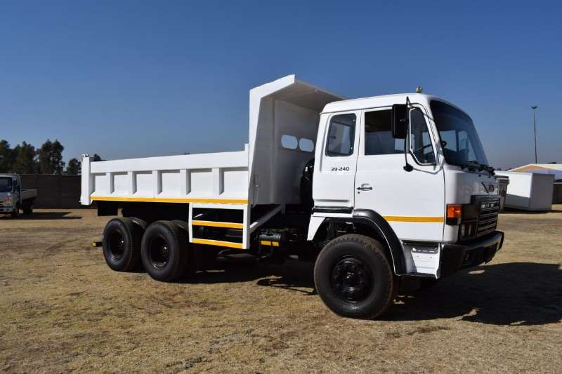 Hino Truck Tipper 39 240 Double Axle 1990