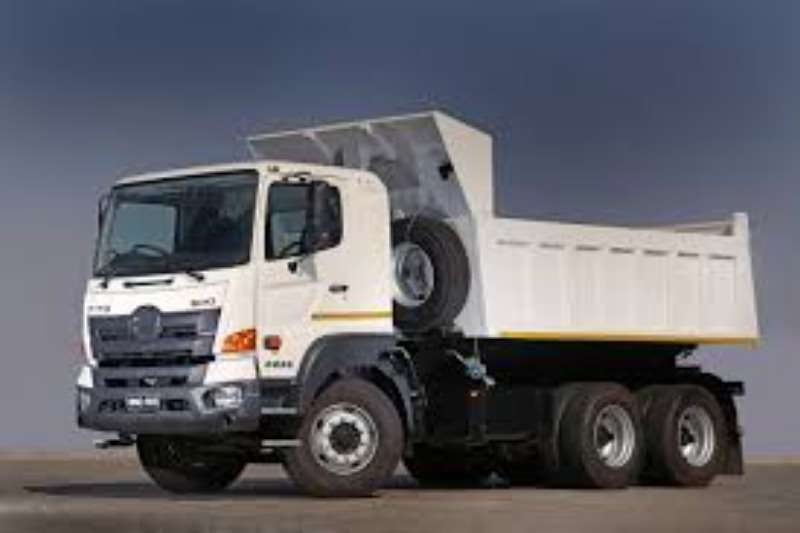 Hino Truck Tipper Hino 500 2836 6x4 2020