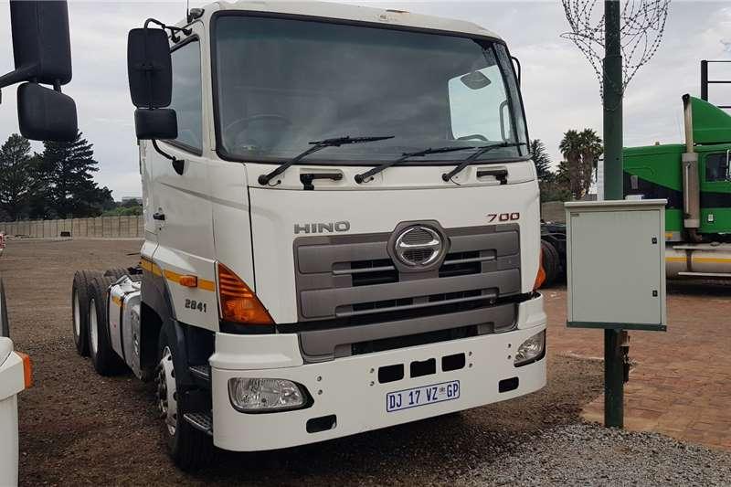 Hino Truck Tractors Double Axle Hino 700 2841 6x4TT Ex Fleet 2014
