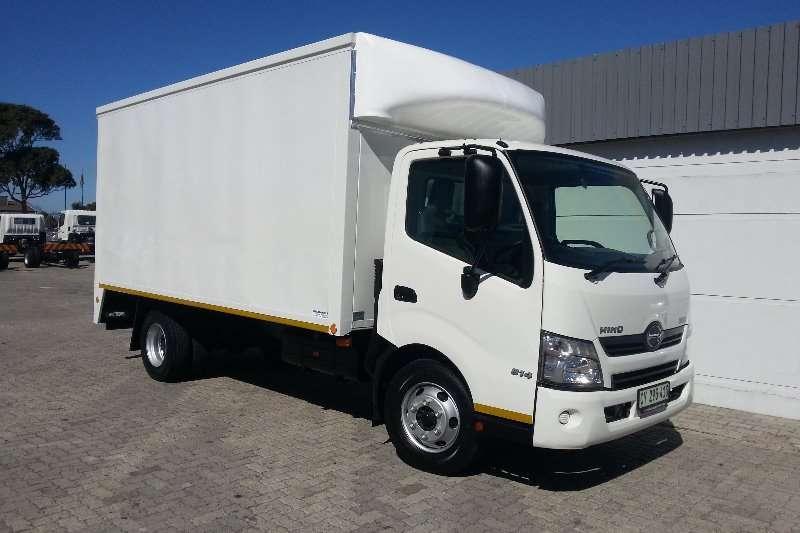 Hino Truck Van body 300 814 LWB 2019