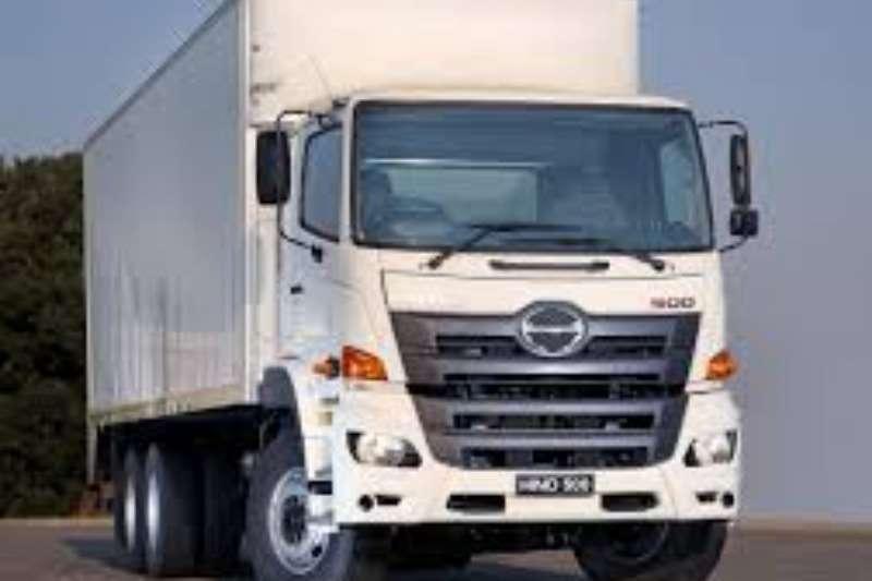 Hino Truck Van body Hino 2836 6x4 FC 2020