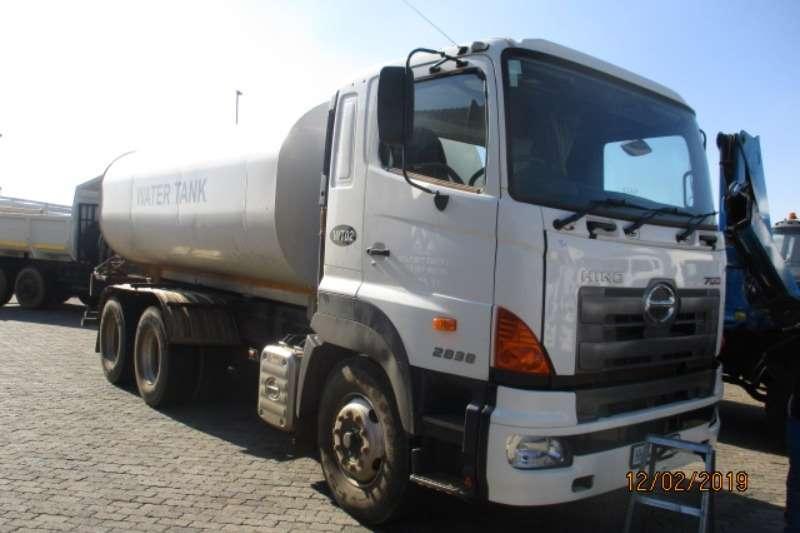 Hino Truck Water tanker HINO 700 2838 18000LITRE WATER TANKER 2018