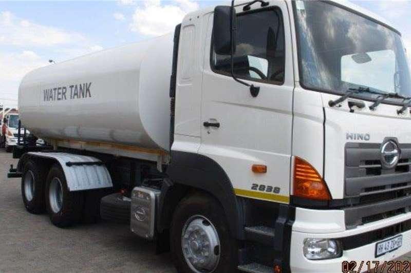 Hino Water bowser trucks 700 2838 F/C 18000L Water Tanker 2018