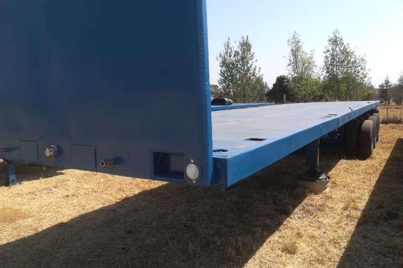Homebuilt Trailers Flat deck 12.5m Tri Axle 2002