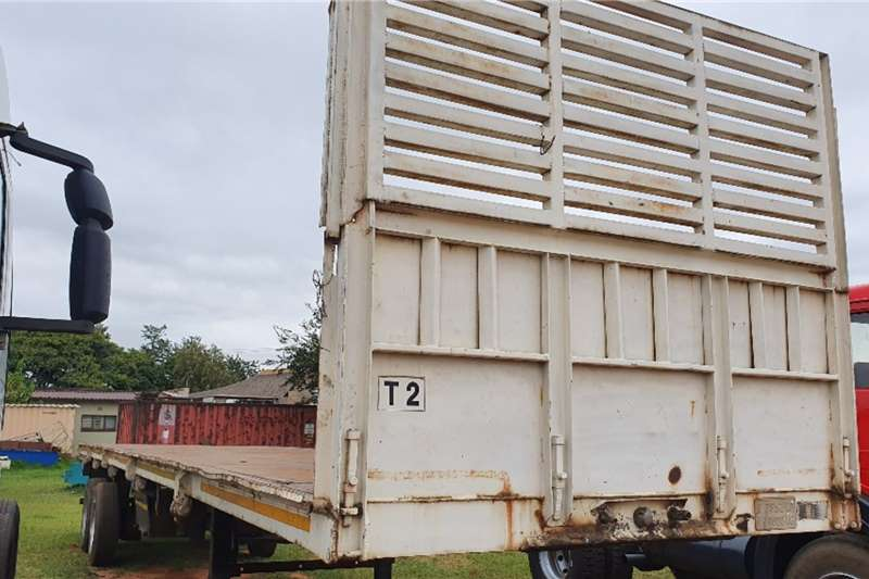 Homebuilt Trailers Flat deck (12m) with Container Locks