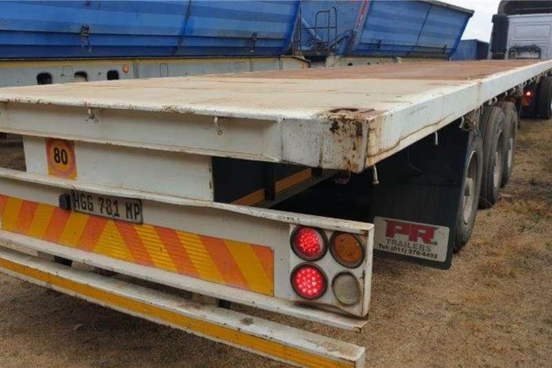 HPC Trailers Flat deck 2013 HPC Steel Pressings Tri Axle Flat Deck 2013
