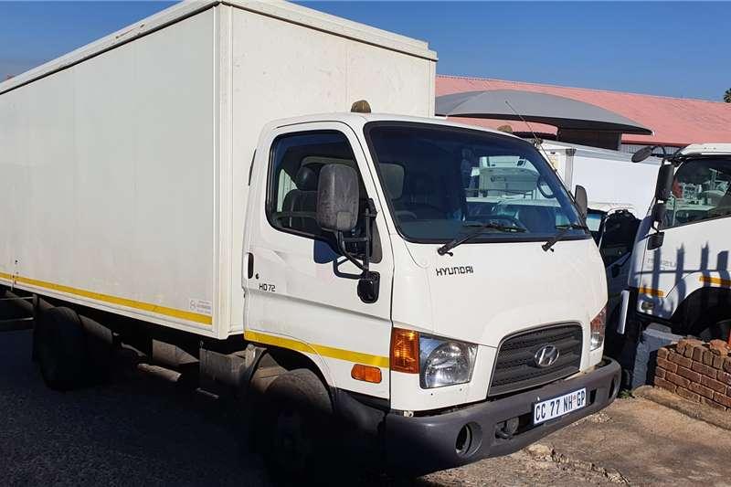 Hyundai Box trucks HD72 2012