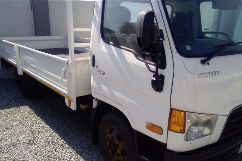 Hyundai Dropside trucks HD72 2012