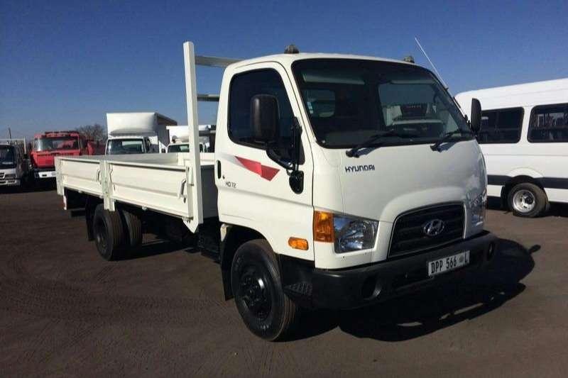 Hyundai Dropside trucks HYUNDAI HD72 DROPSIDE 2016