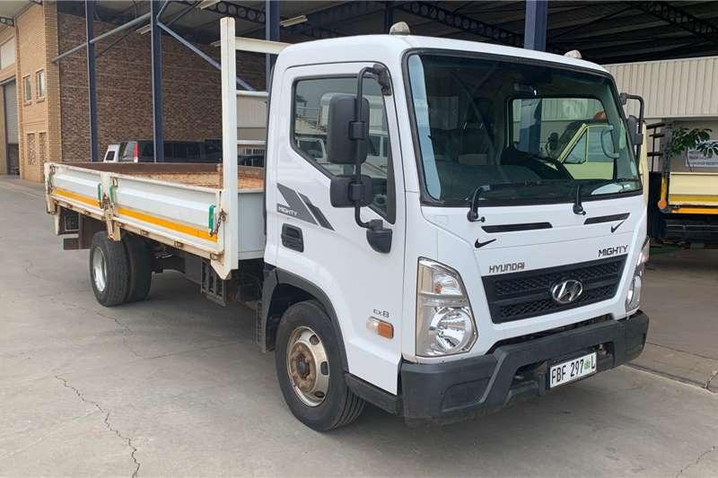 Hyundai Mighty EX 8 F/C D/S Dropside trucks