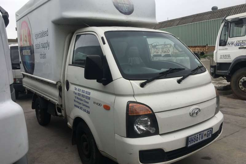 Hyundai LDVs & panel vans H100 DROPSIDE WITH CANOPY 2013