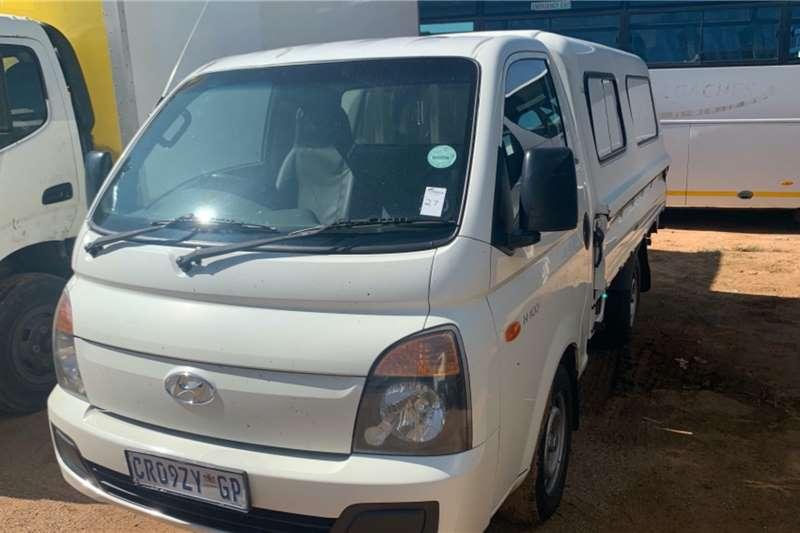 Hyundai LDVs & Panel Vans H100 WITH CANOPY 2013