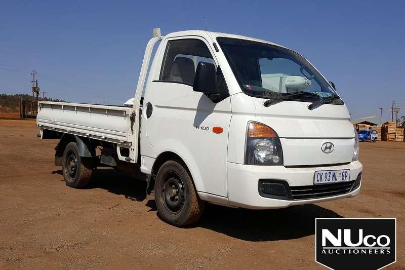 Hyundai LDVs & panel vans HYUNDAI H 100 DROPSIDE 2013