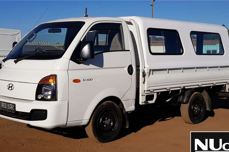 Hyundai LDVs & panel vans HYUNDAI H 100 DROPSIDE WITH CANOPY 2015