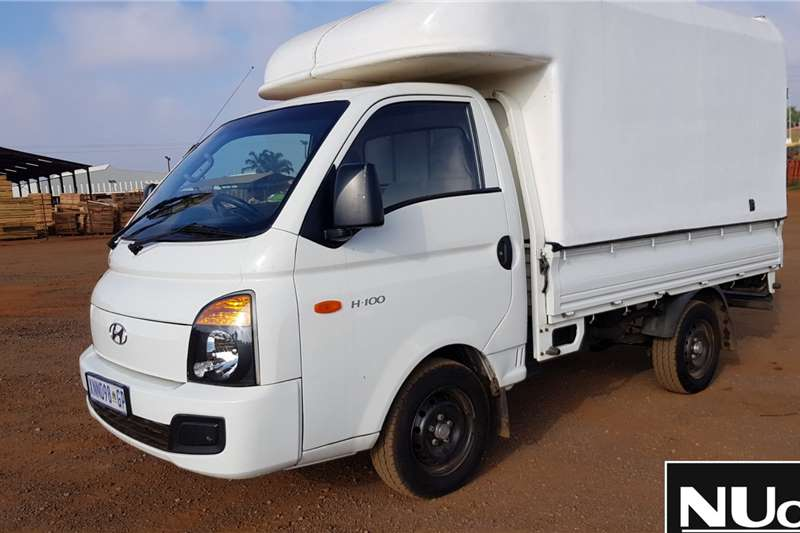 Hyundai LDVs & panel vans HYUNDAI H 100 WITH CANOPY