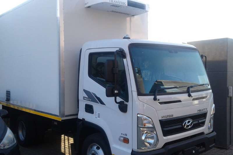 Hyundai EX8 Refrigerated trucks