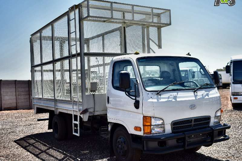 Hyundai Tipper trucks HD72 2011