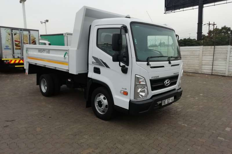 Hyundai Truck EX 8 SWB Tipper Truck 2018