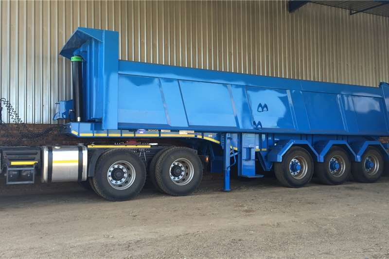 Ice Cold Bodies 24m³Rear Tipper Trailers Trailers