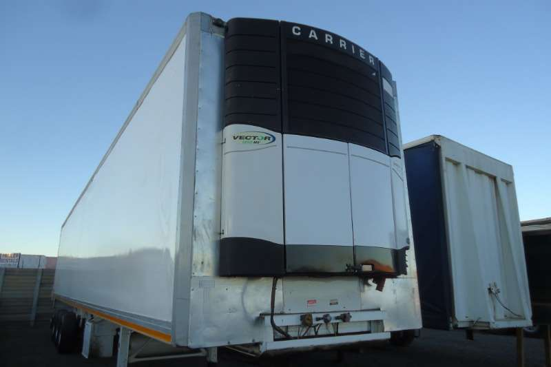 Ice Cold Bodies Trailers Refrigerated trailer 15M ICECOLD BODIES TRI AXLE REFRIGERATED TRAILER 2007