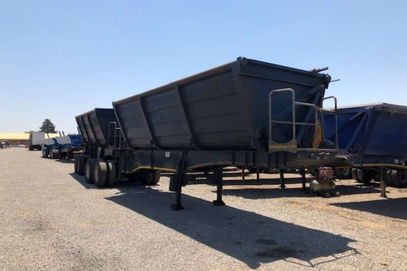 Ice Cold Bodies Trailers Side tipper 50m³ Interlink Side Tipper Trailers 2015