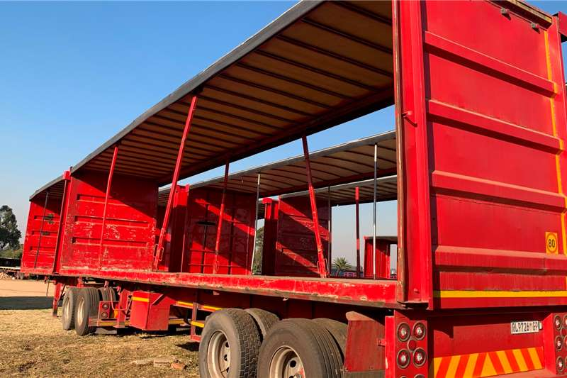 Ice Cold Bodies SUPER LINK FLAT DECK Trailers