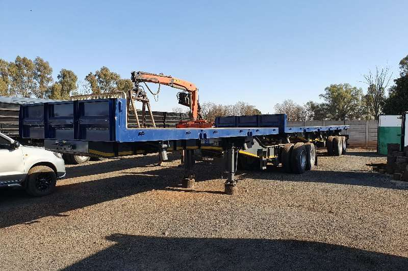 Ice Cold Bodies Trailers Superlink 6 x 12m 2014