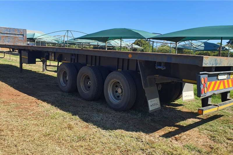 Ice Cold Bodies TRI AXLE FLAT DECK Trailers