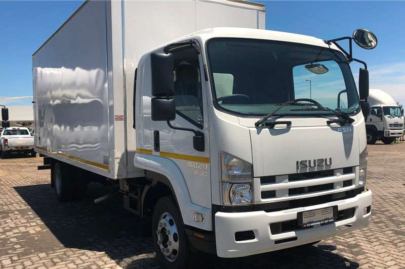 Isuzu Box trucks FSR 800 Manual Demo 2019