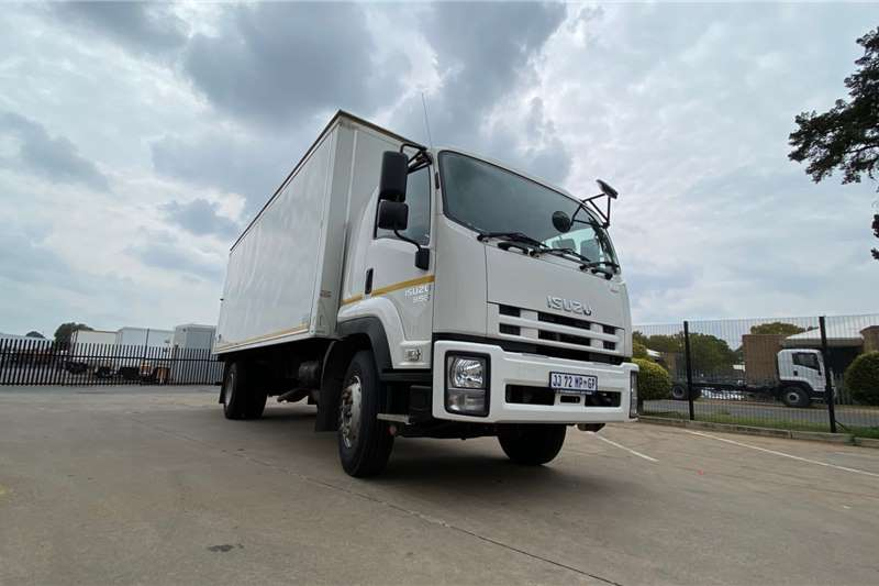 Isuzu Box trucks FTR 850 AMT Demo 2019
