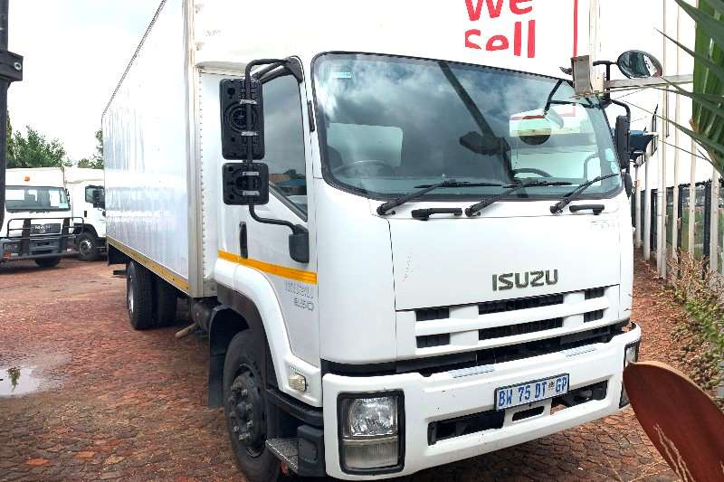 Isuzu Box trucks FTR 850 F/C Volume Van 2012