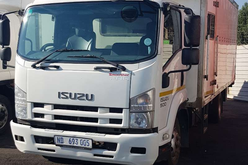 Isuzu Box trucks Isuzu FRR500 Closed Body with Taillift 2012