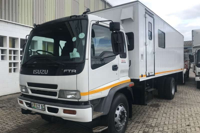 Isuzu Box trucks Isuzu FTR800 2010