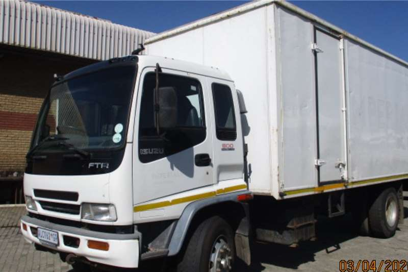 Isuzu Box Trucks ISUZU FTR800 VOLUME VAN BODY WITH TAIL LIFT 2007