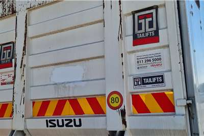Isuzu Isuzu FVM 1200 Van Body used truck for sale Box trucks