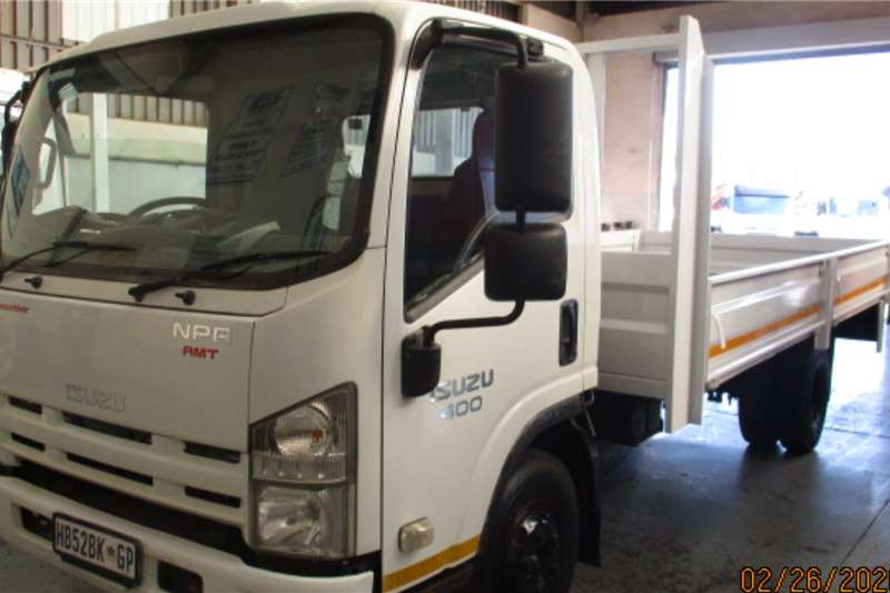 Isuzu Box trucks ISUZU NPR400 DROPSIDE 2013