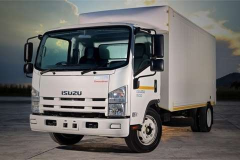 Isuzu Box trucks NEW NQR 500 AMT 2020