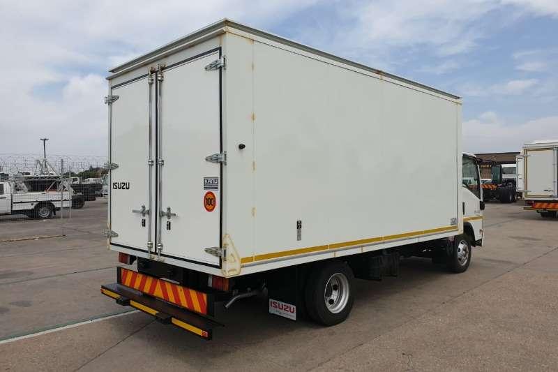 Isuzu NPR 400 AMT Van Body Box trucks
