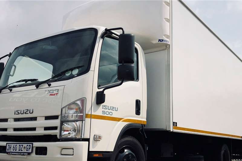 Isuzu Box trucks NQR 500 AMT 2019